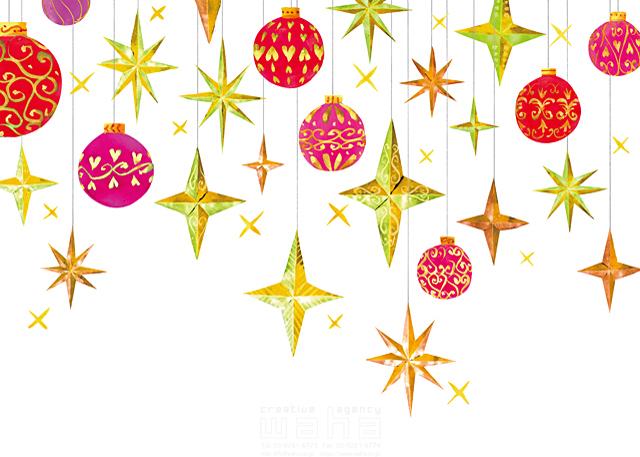 冬 クリスマス 飾り アイテム 星 楽しみ わくわく オーナメント 赤 オシャレ ピンク 吊るす 飾る 夢 希望 イラスト作品紹介 イラスト 写真のストックフォトwaha ワーハ カンプデータは無料