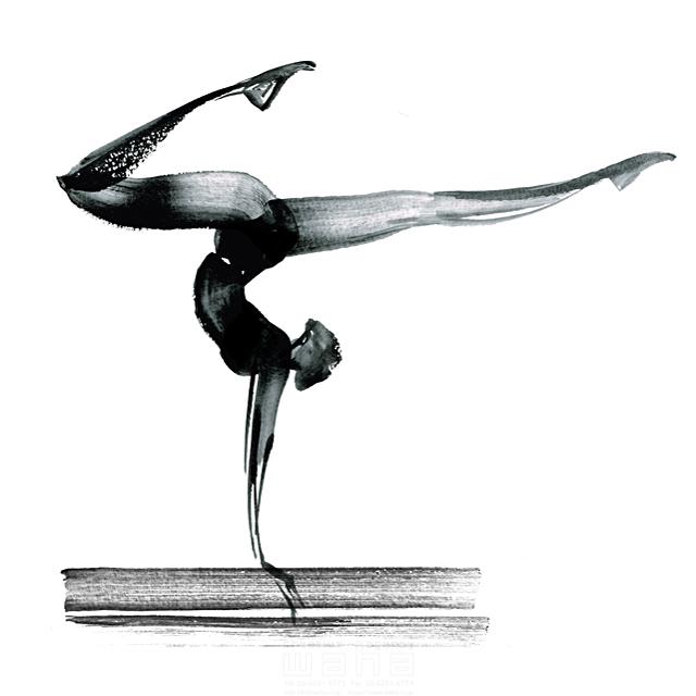 スポーツ、人物イメージ、オリンピック、体操競技、新体操、大会 ...
