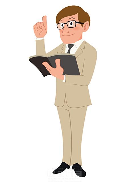 イラスト&写真のストックフォトwaha(ワーハ) 人、人物、大人、男性、スーツ、ビジネス、ビジネスマン、サラリーマン、仕事、働く人、IT系、考える、プレゼンテーション、会議、コミュニケーション 両口 和史 19-2085b
