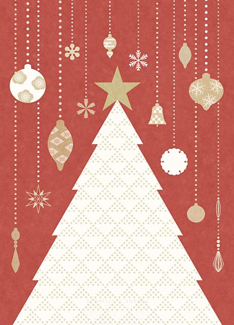 イラスト&写真のストックフォトwaha(ワーハ) クリスマス、クリスマスツリー、冬、飾り、装飾、デコレーション、季節、お祝い、イベント、パーティー、楽しい、明るい、愛情 高村 かい 19-2627b